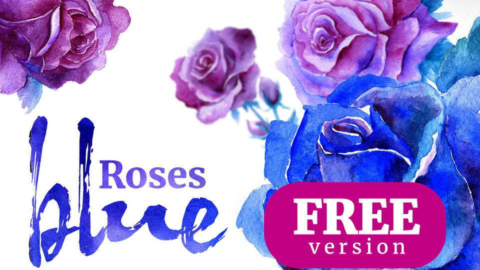 watercolor roses free