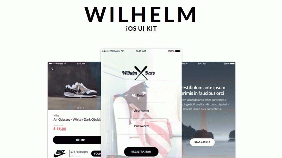 wilhelm free ui kit