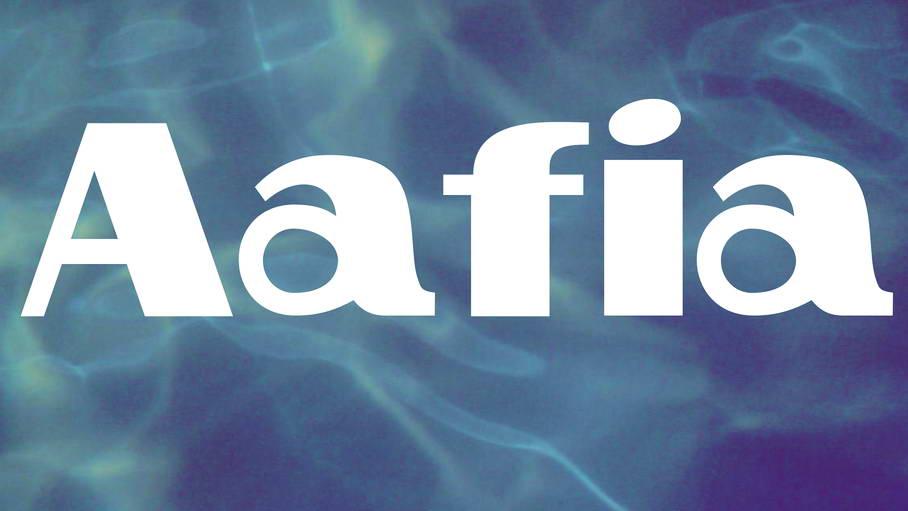 aafia free font