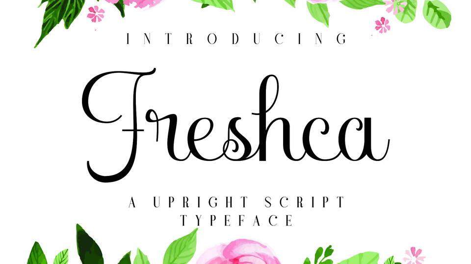 freshca free font