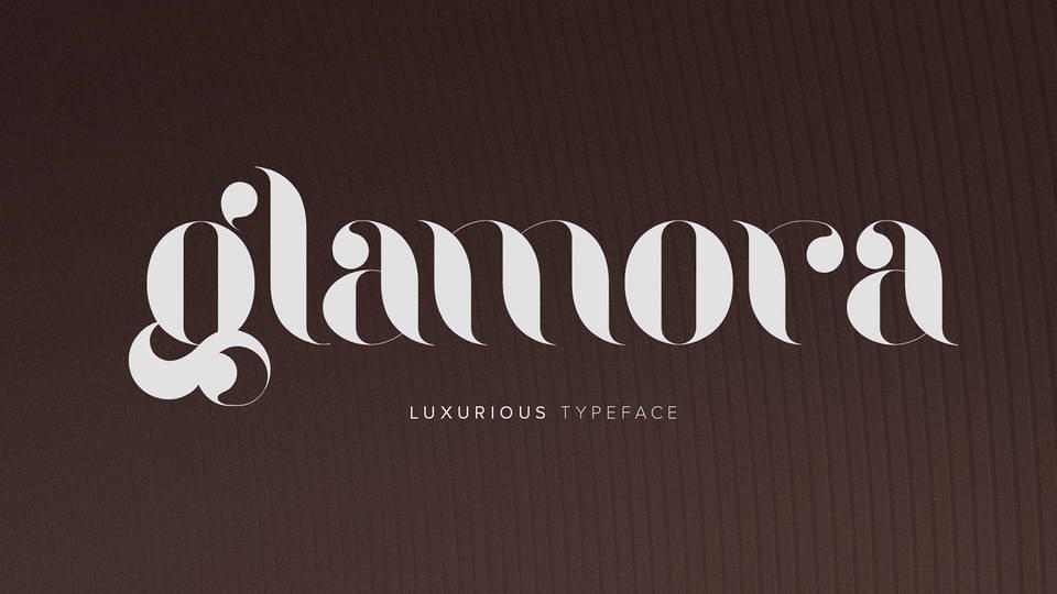 glamora free font