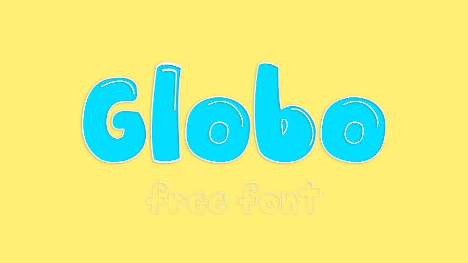 globo free font