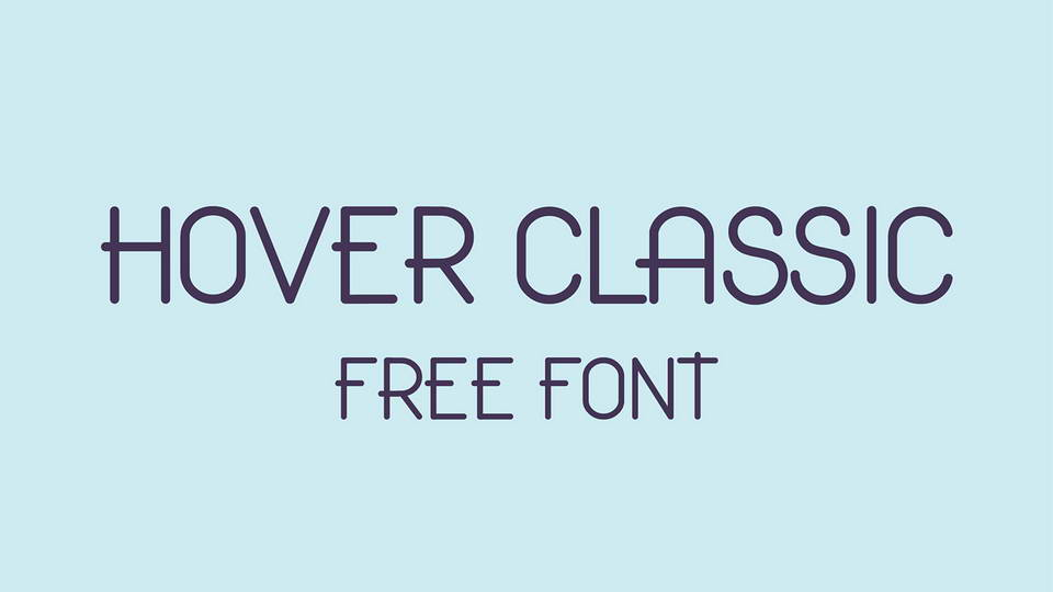 hover free font download