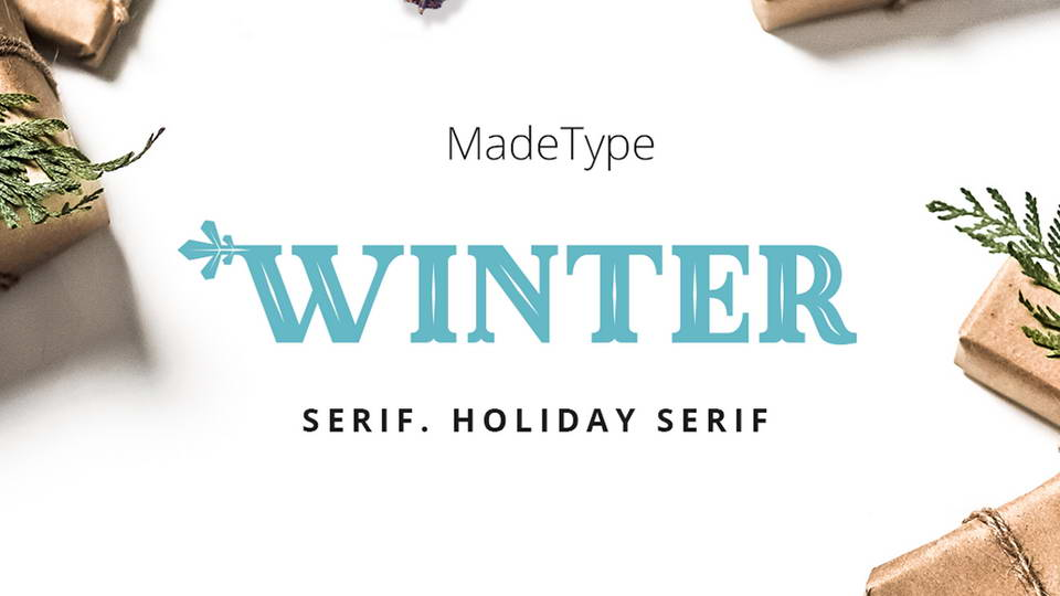made winter free font
