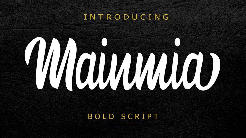 mainmia free font