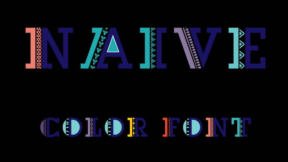 naive free font