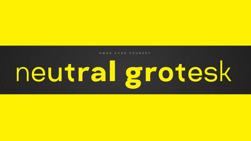 neutral grotesk free