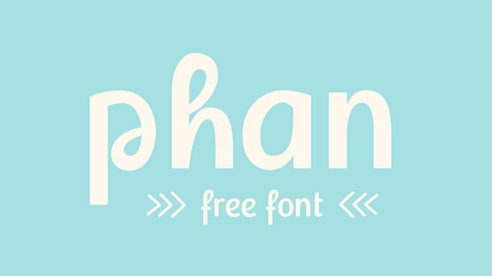 phan free font