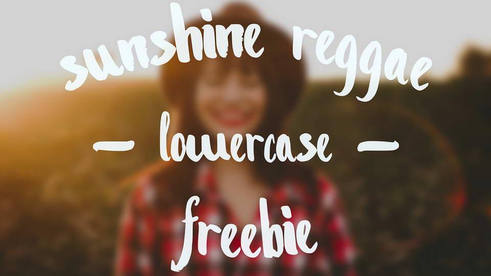 sunshine reggie free font