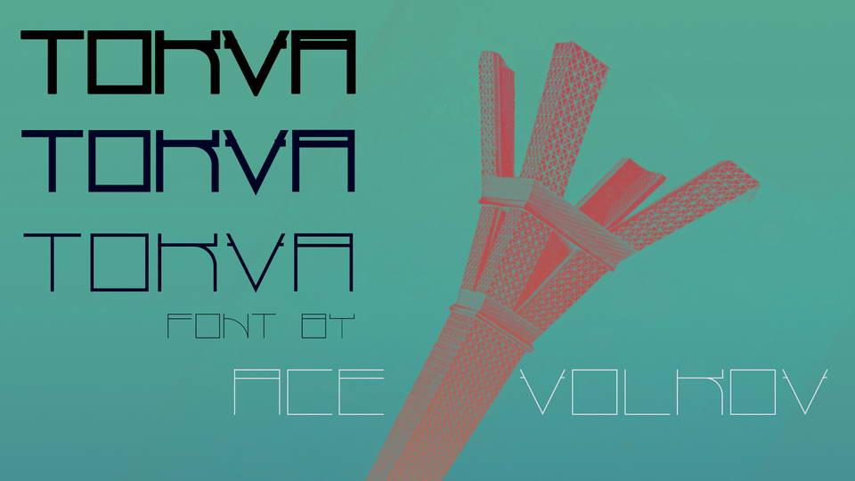 tokva free font