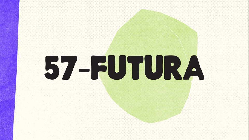 57 futura free font