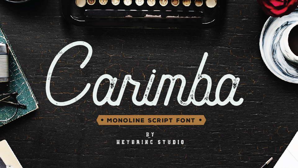 carimba free font