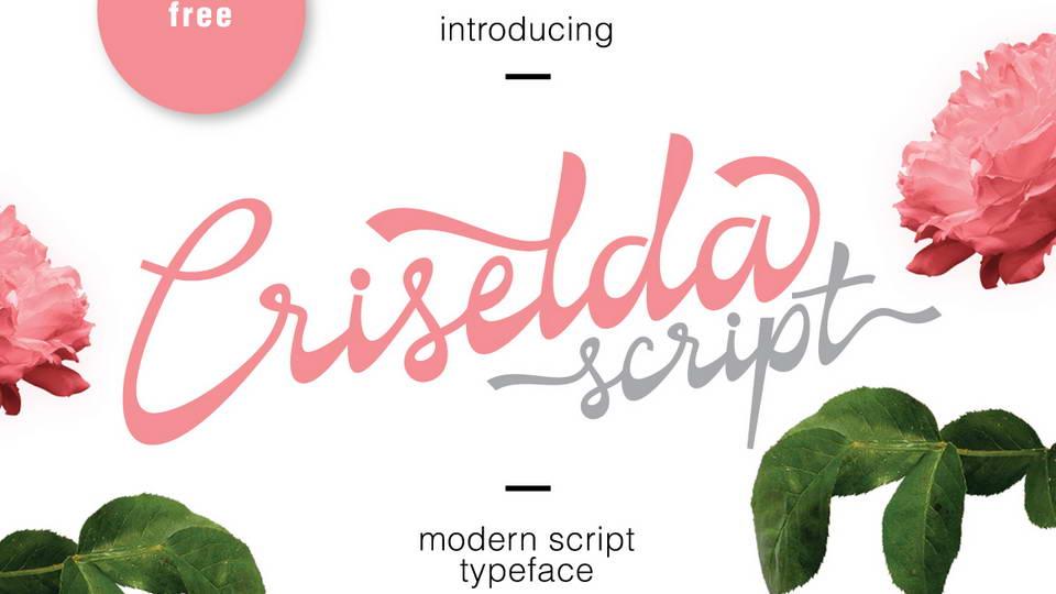 criselda script free font