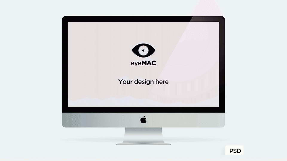 download free imac mockup
