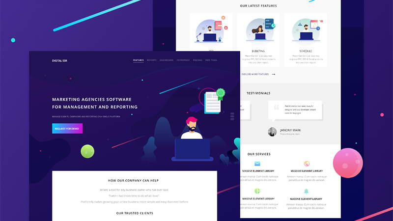 download landing page