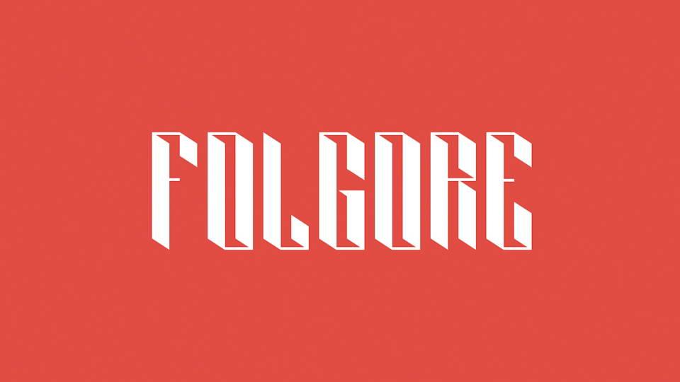 folgore free font