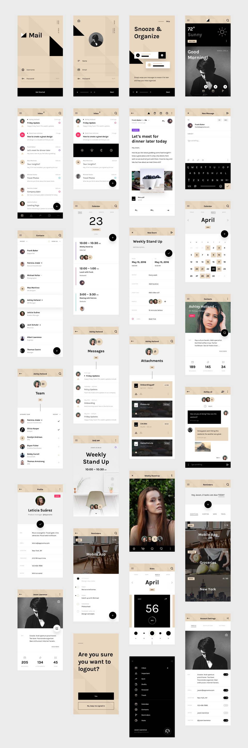 mail ui kit free