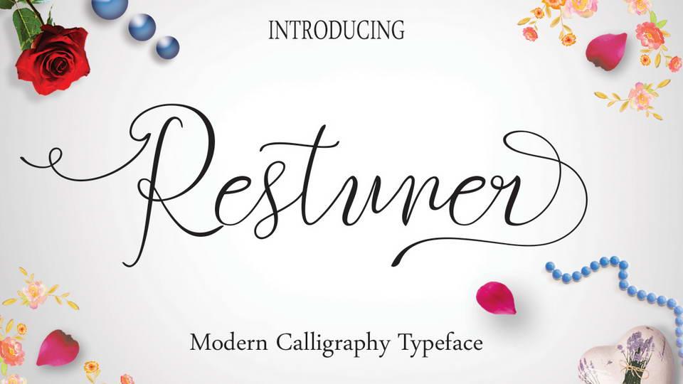 restuner free font