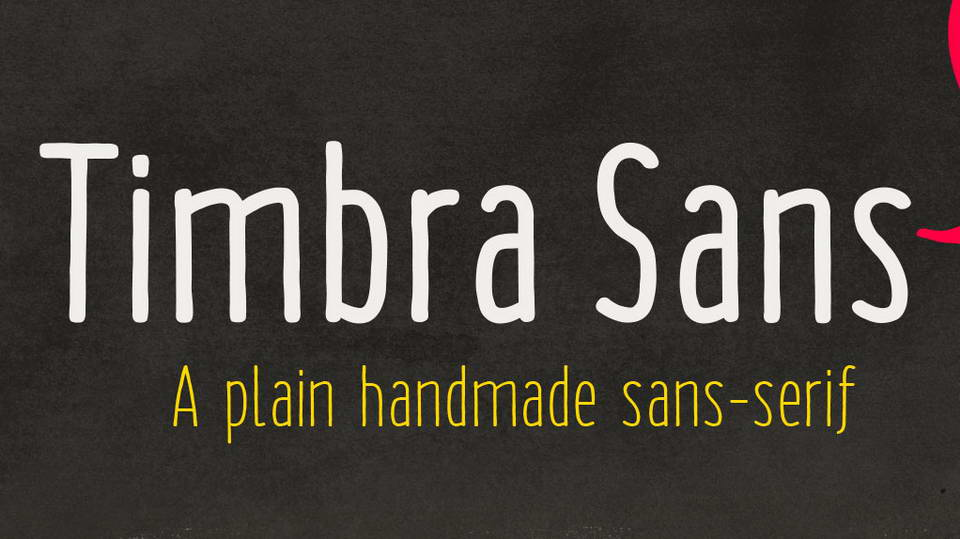 timbra sans free font