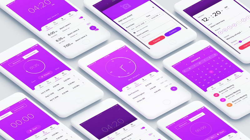 watch app free ui kit