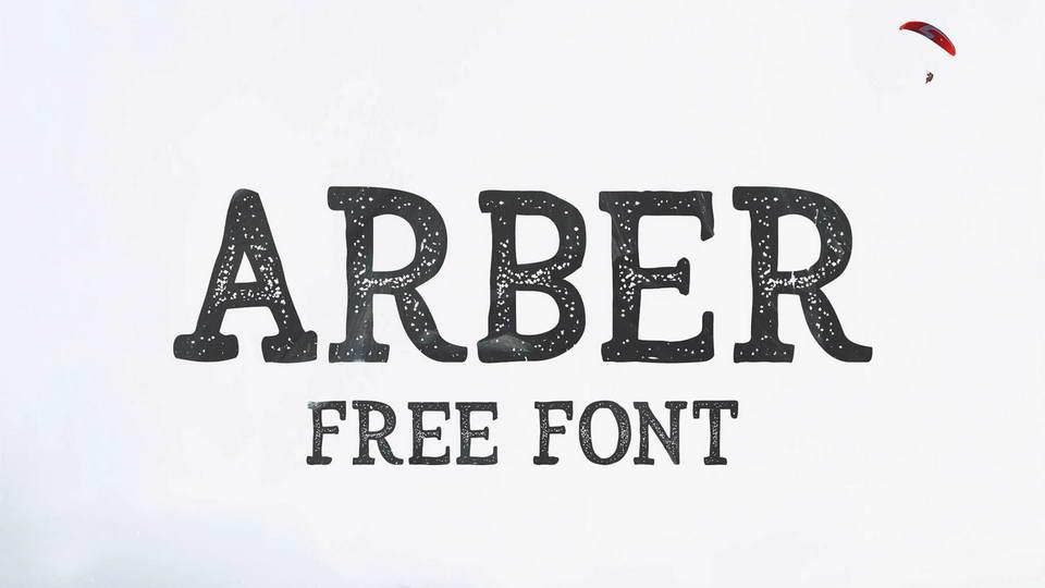arber free font