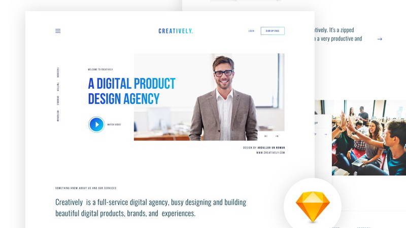 creatively free web template