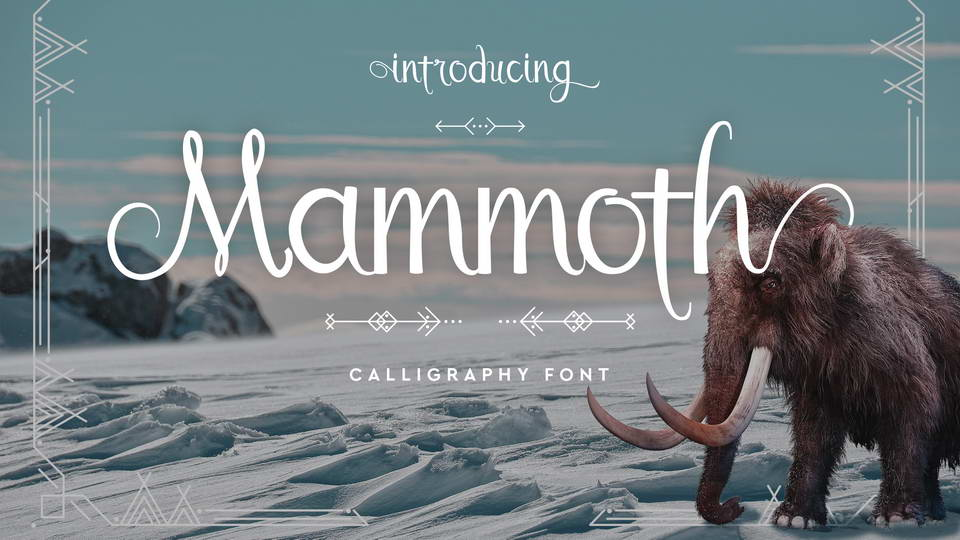 mammoth free font