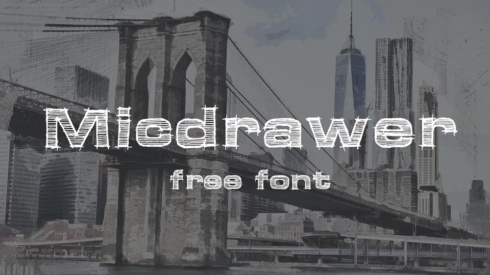 micdrawer free font