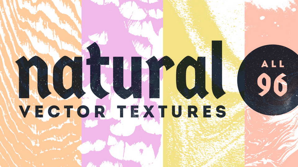 natural vector textures