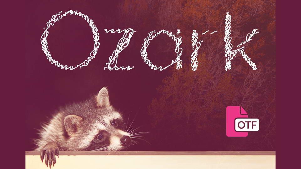 ozark free font