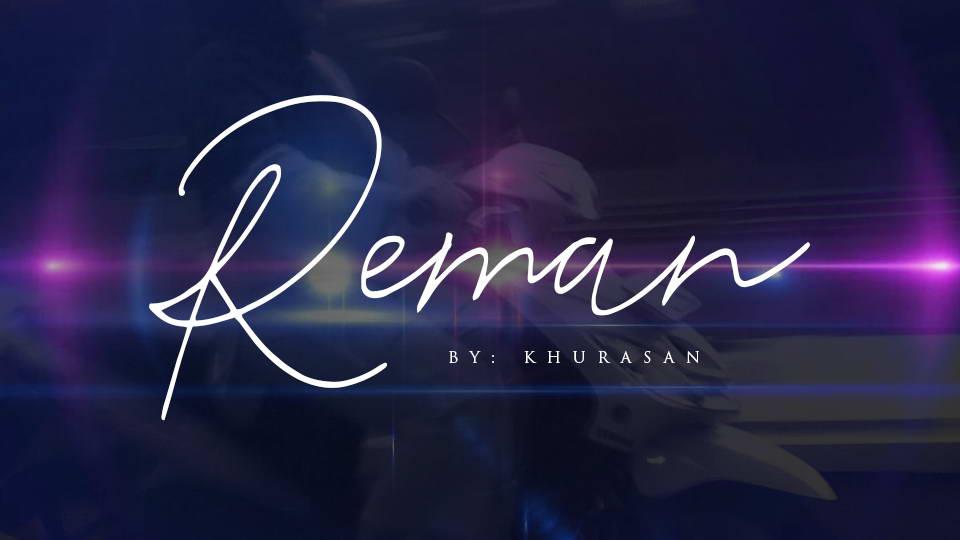reman free font