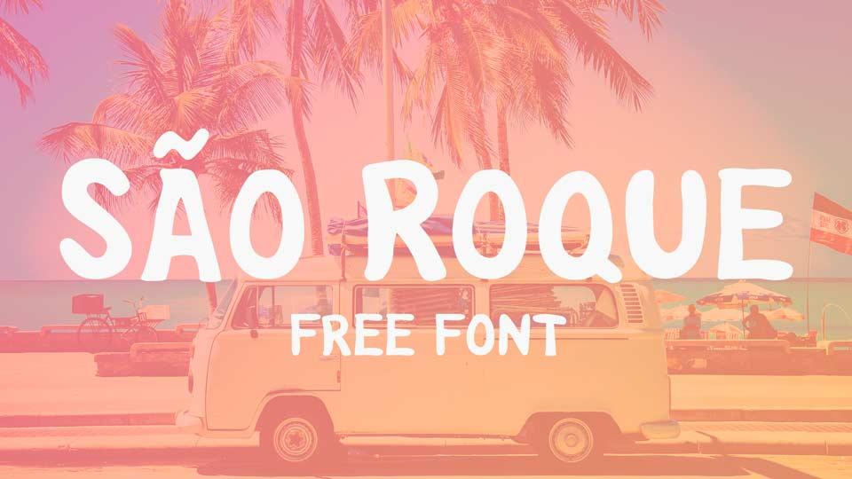 sao roque free font