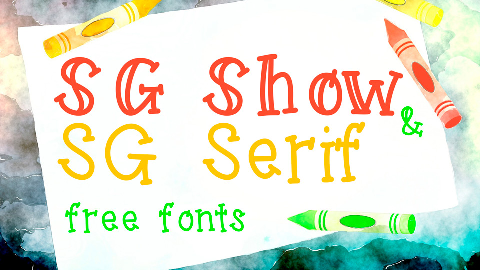 sg show free font