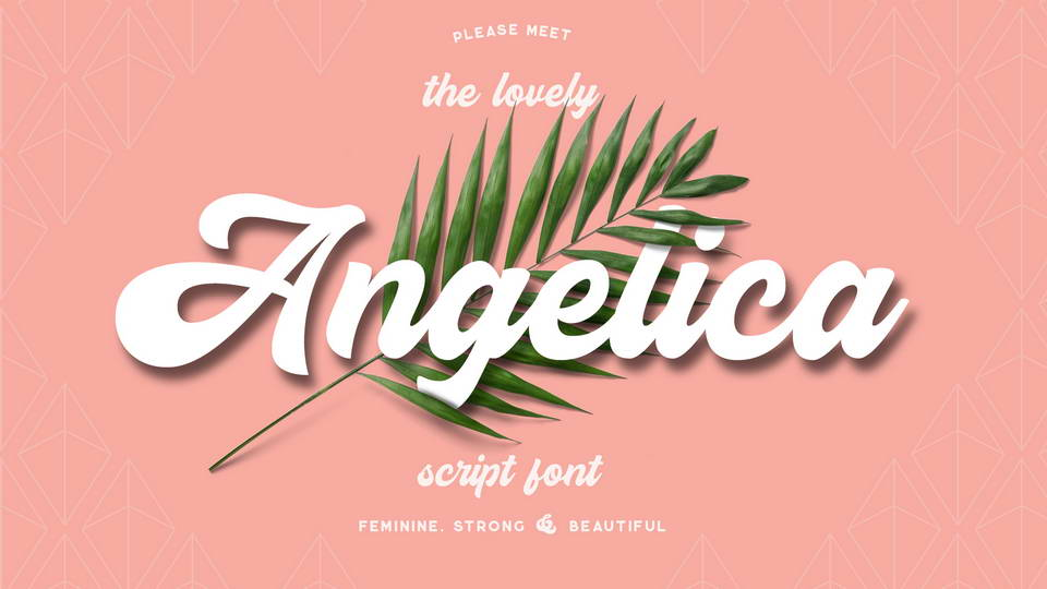 angelica free font