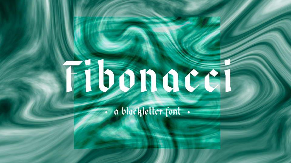 fibonacci free font