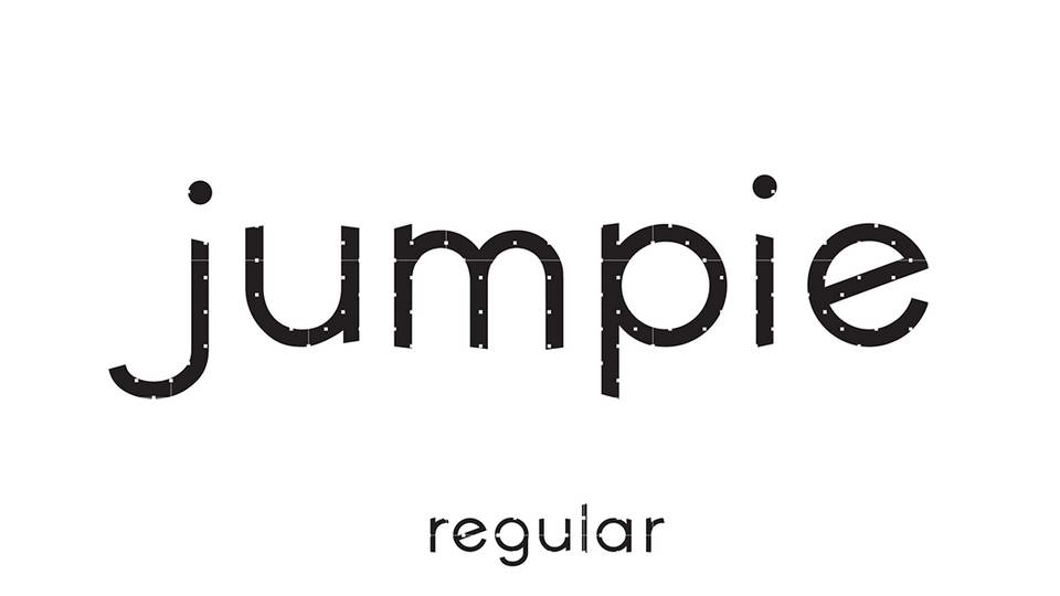 jumpie free font