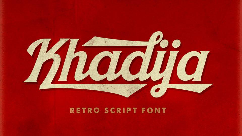 khadija free font