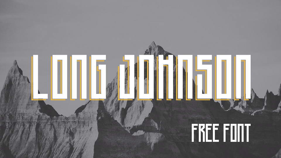 long johnson free font