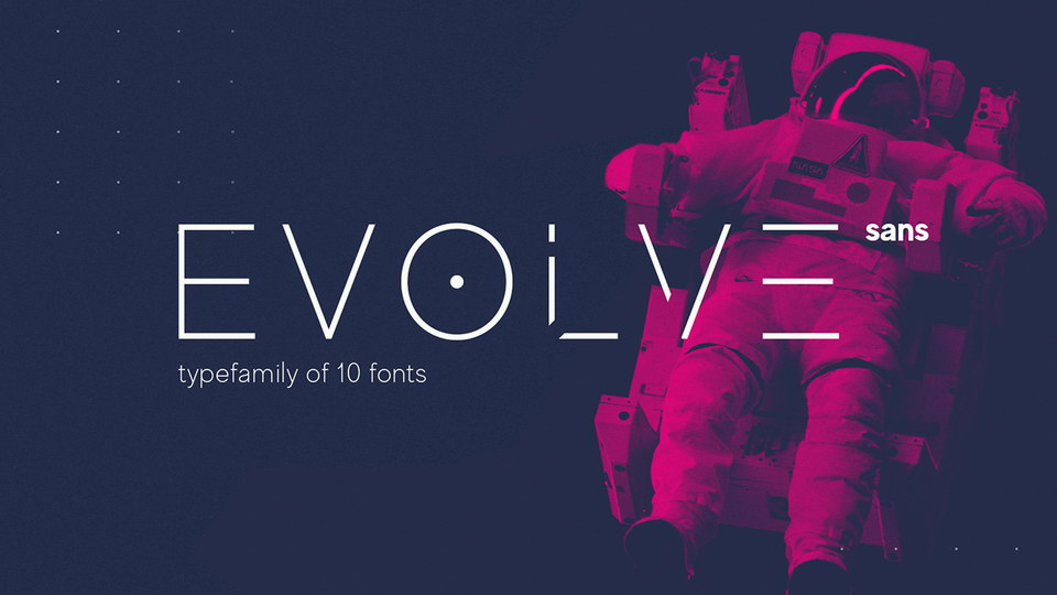 made evolve free font
