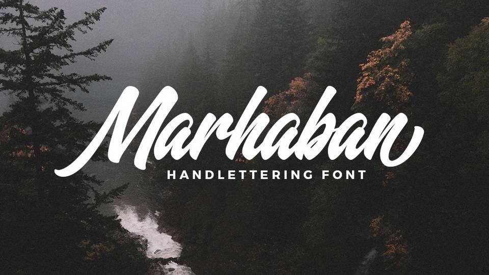 marhaban free font
