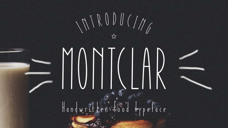 montclar free font