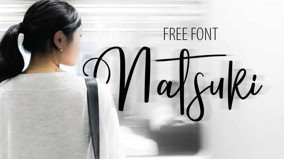 natsuki free font