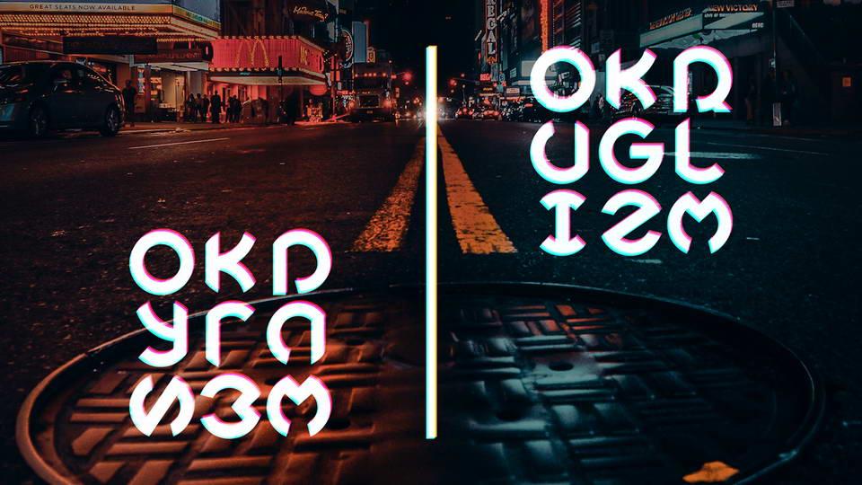 okruglizm free font