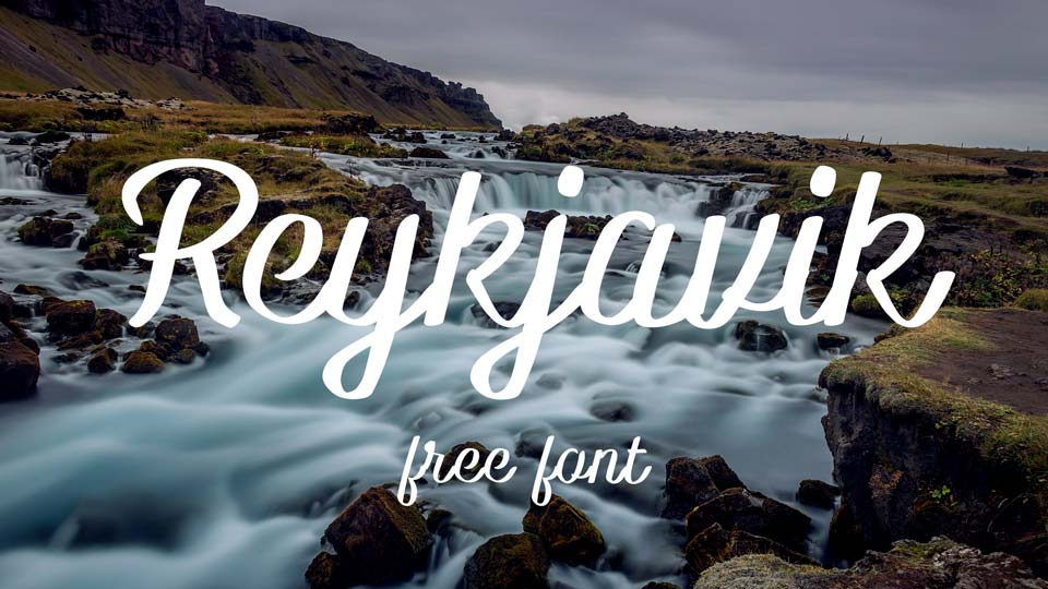 reykjavik free font