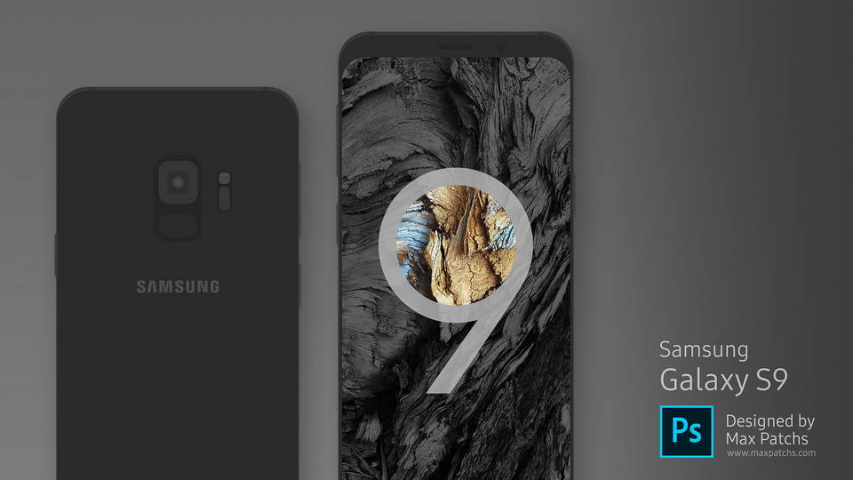 samsungs 9 mockup download