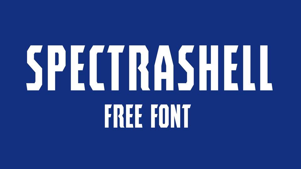 spectrashell free font