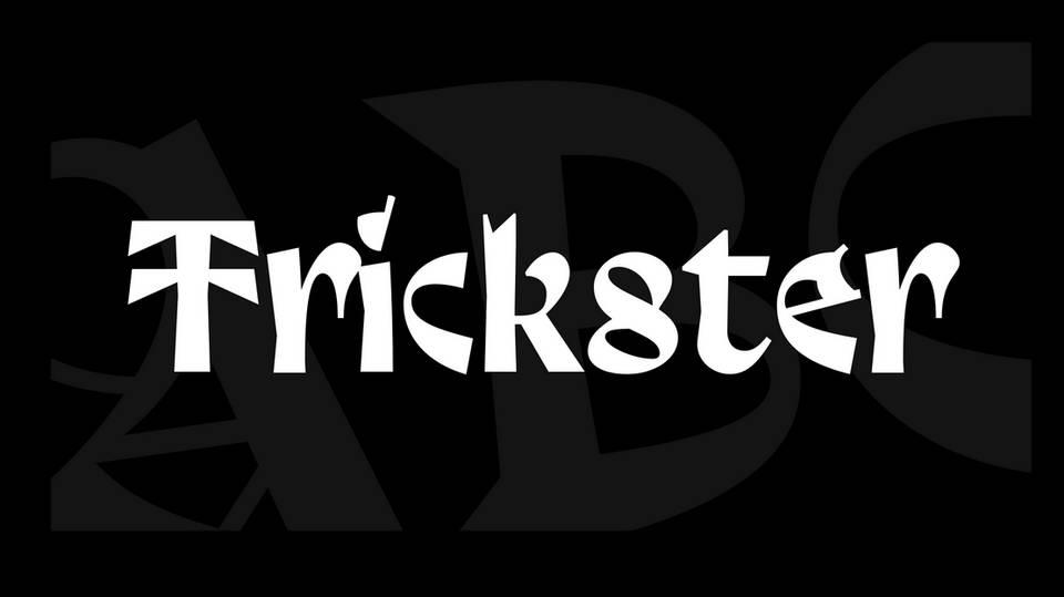 trickster free font