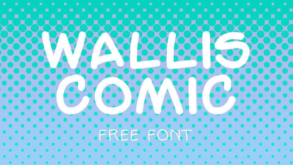 wallis comics free font
