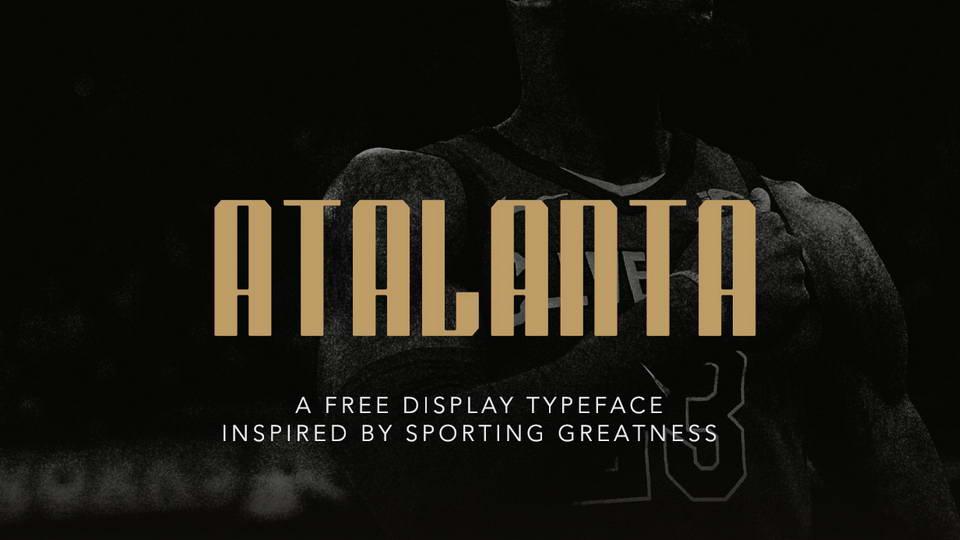 atlanta free font