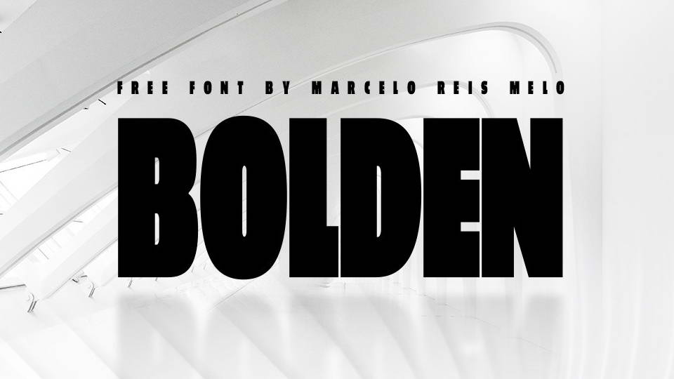 bolden free font
